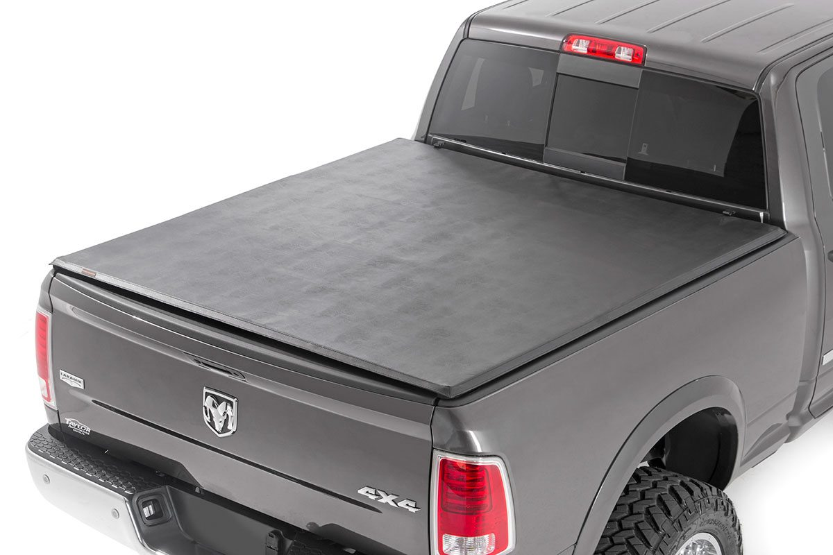 Dodge Soft Tri Fold Bed Cover 2019 Ram 1500 5 5 Bed Pursuit Electronics